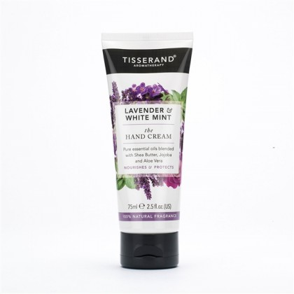 Tisserand - Lavender & White Mint - Hand Cream - 75ml