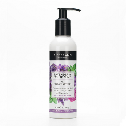 Tisserand - Lavender & White Mint - Body Lotion - 195 ml