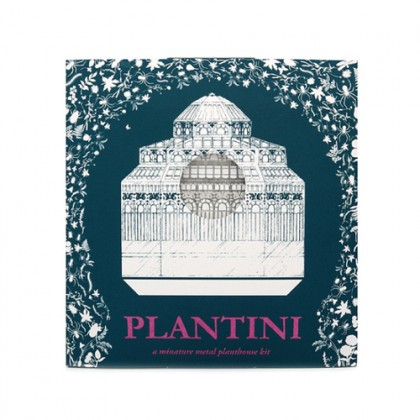 Plantini by Another Studio - A Minature Metal Planthouse Kit.