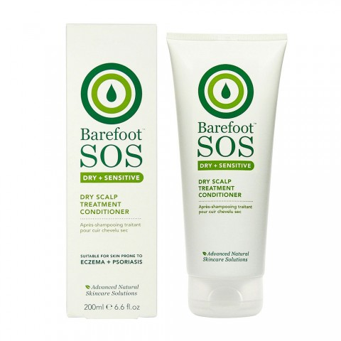 Barefoot SOS - Dry + Sensitive - Dry Scalp Treatment Conditioner - 200 ml