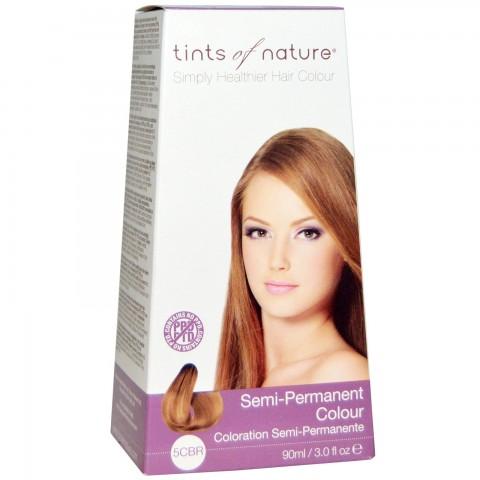 Tints of nature - Semi Permanent Hair Colour - 5CBR Copper Brown