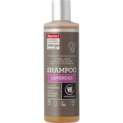 Urtekram - Lavender - Normal Hair Shampoo - 250 ml