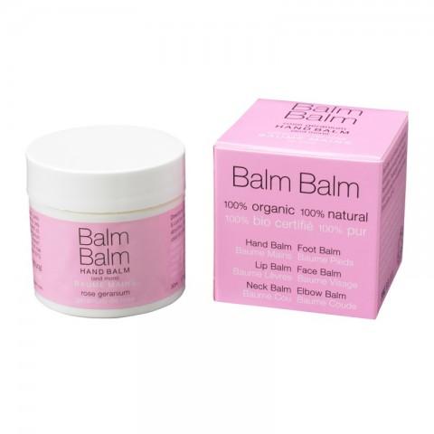 Balm Balm - Rose Geranium - Organic Hand Balm - 30 ml