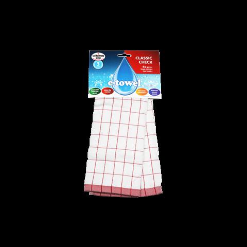 E-Cloth - Classic Check - Red