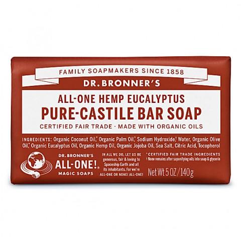 Dr Bronner's - Eucalyptus - Soap Bar - 140 gr