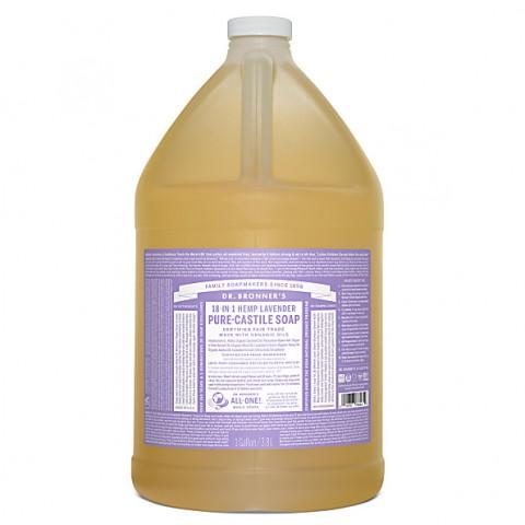 Dr Bronner's - Lavender - Pure Castille Liquid Soap - 1 Gallon/3,8 L