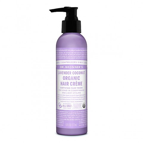 Dr Bronner's - Lavender Coconut - Hair Creme - 06 oz/175 ml