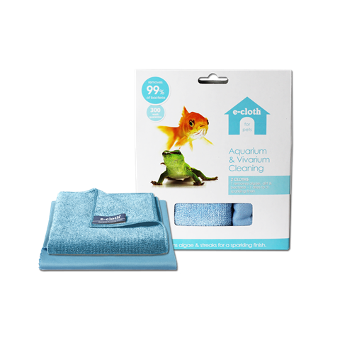 E-Cloth - Aquarium & Vivarium Cleaning Pack - 2 Cloths