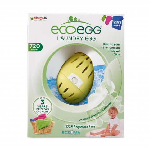Ecoegg - Laundry Egg - 720 Washes - Fragrance Free