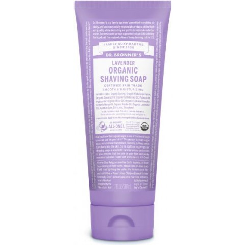 Dr Bronner's - Lavender - Shaving Soap - 07 oz/207 ml