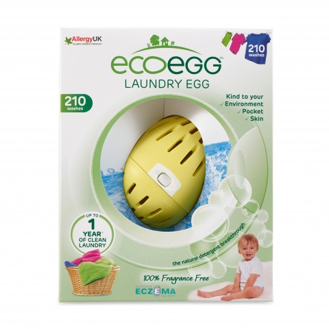 Ecoegg - Laundry Egg - 210 Washes - Fragrance Free
