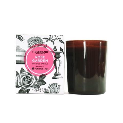 Tisserand - Rose Garden - Scented Candle - 140 gr