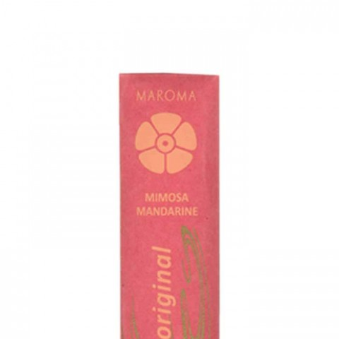 Maroma - Encens d'Auroville - Mimosa Mandarine - 10 Incense Sticks