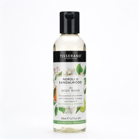 Tisserand - Neroli & Sandalwood - Body Wash - 200 ml