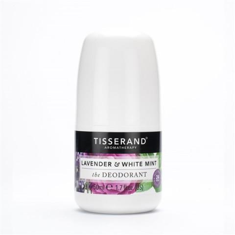 Tisserand - Lavender & White Mint - Deodorant - 50 ml
