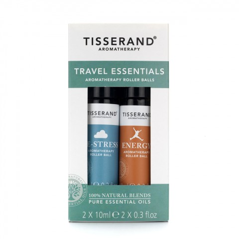 Tisserand - Travel Essential Kit - Aromatherapy Roller Balls - 2 x 10 ml